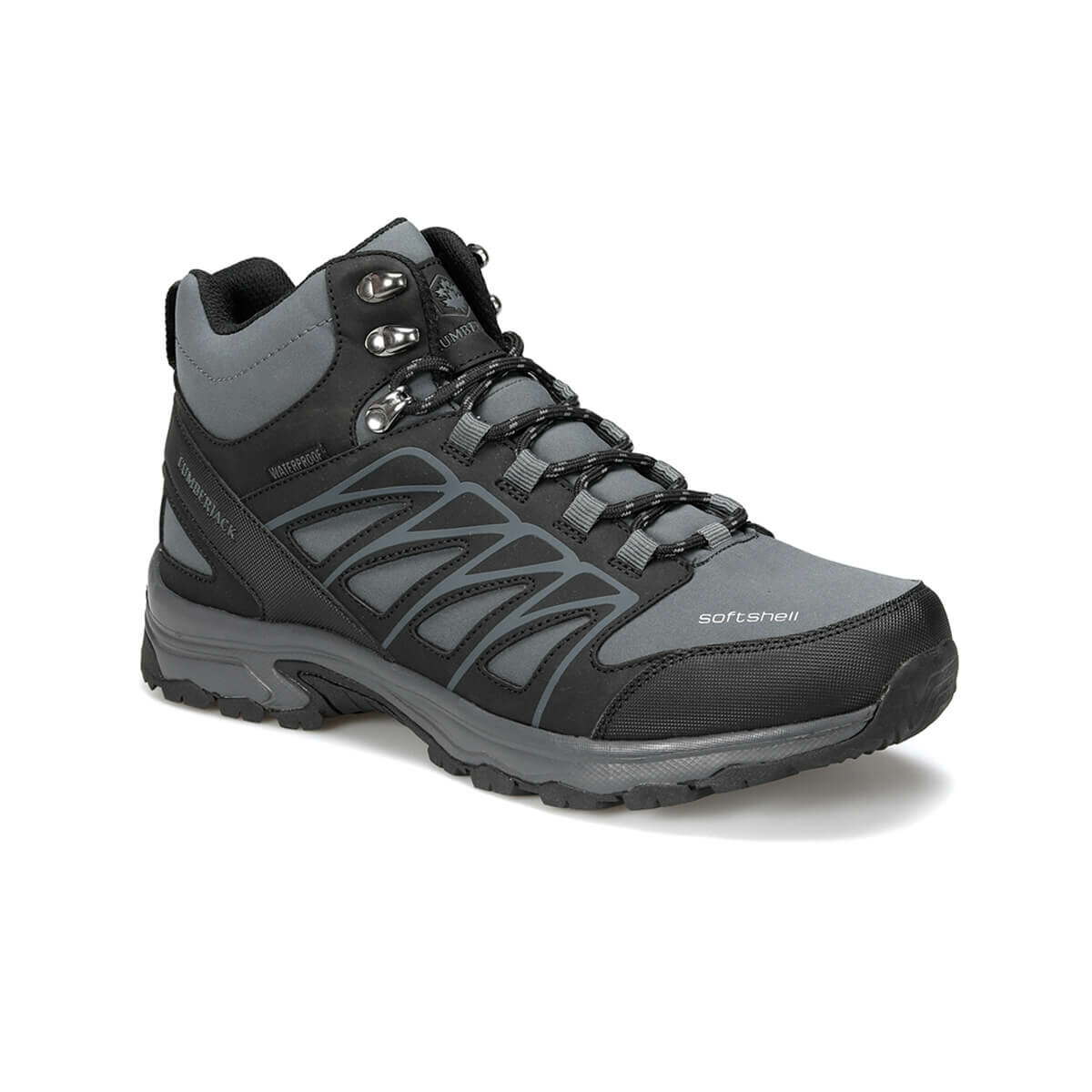 FLO STORM HI 9PR Dark Gray Male Outdoor Boots LUMBERJACK