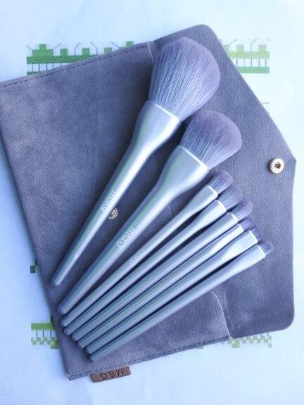 8PCS Makeup Brushes Sets Powder Foundation Blusher Eyeshadow Brush Candy Cosmetic Colorful Make Up NO MSQ LOGO With Bag reviews №1 62065