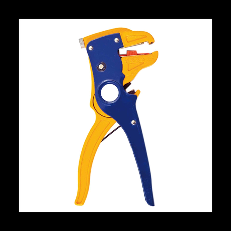 Plier Self Adjusting Cutter And Wire Stripper