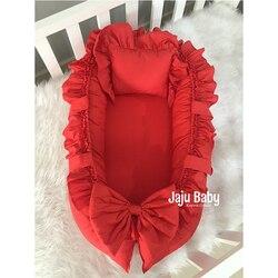 Jaju Baby nest Red Orthopedic Luxury Babynest Baby Bedding