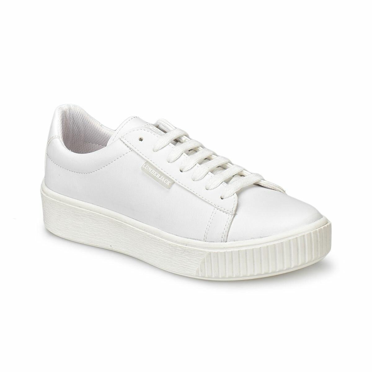 FLO CANDY White Women 'S Sneaker Shoes LUMBERJACK