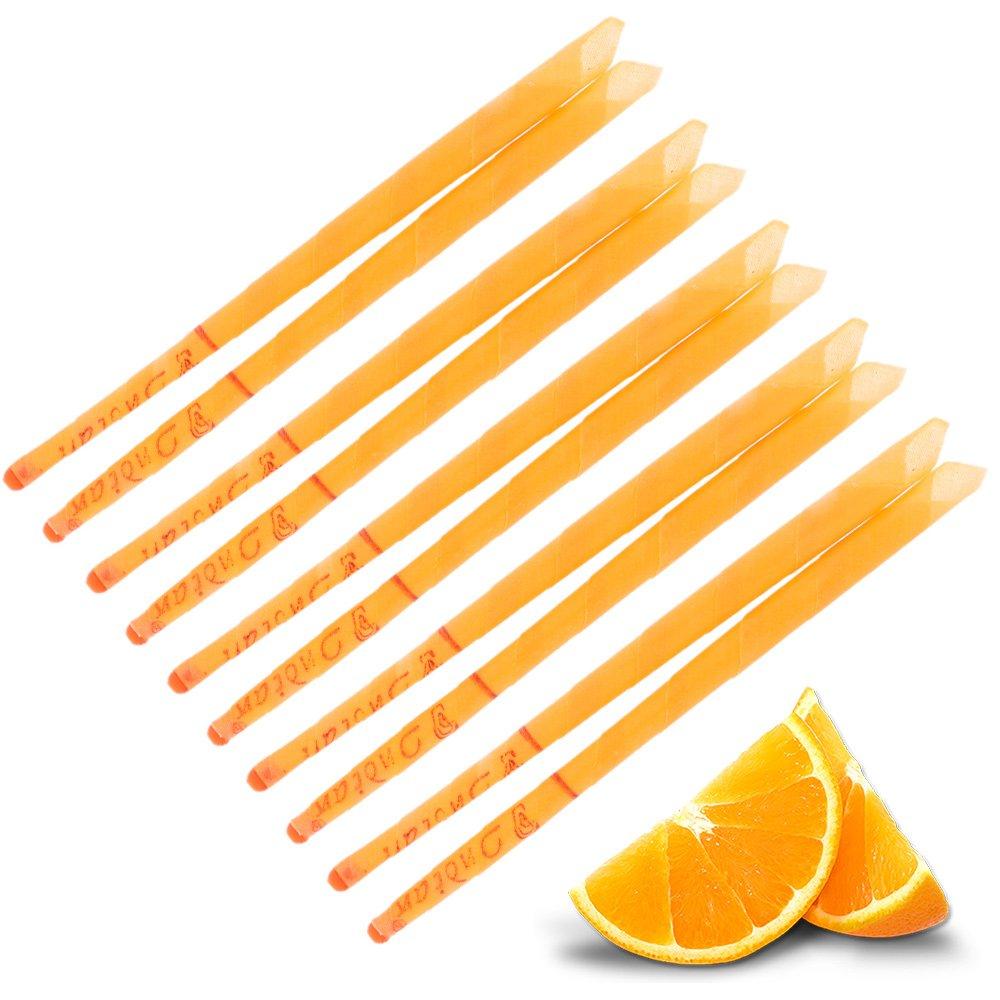 Pair Candles Ear Aromatic-Orange