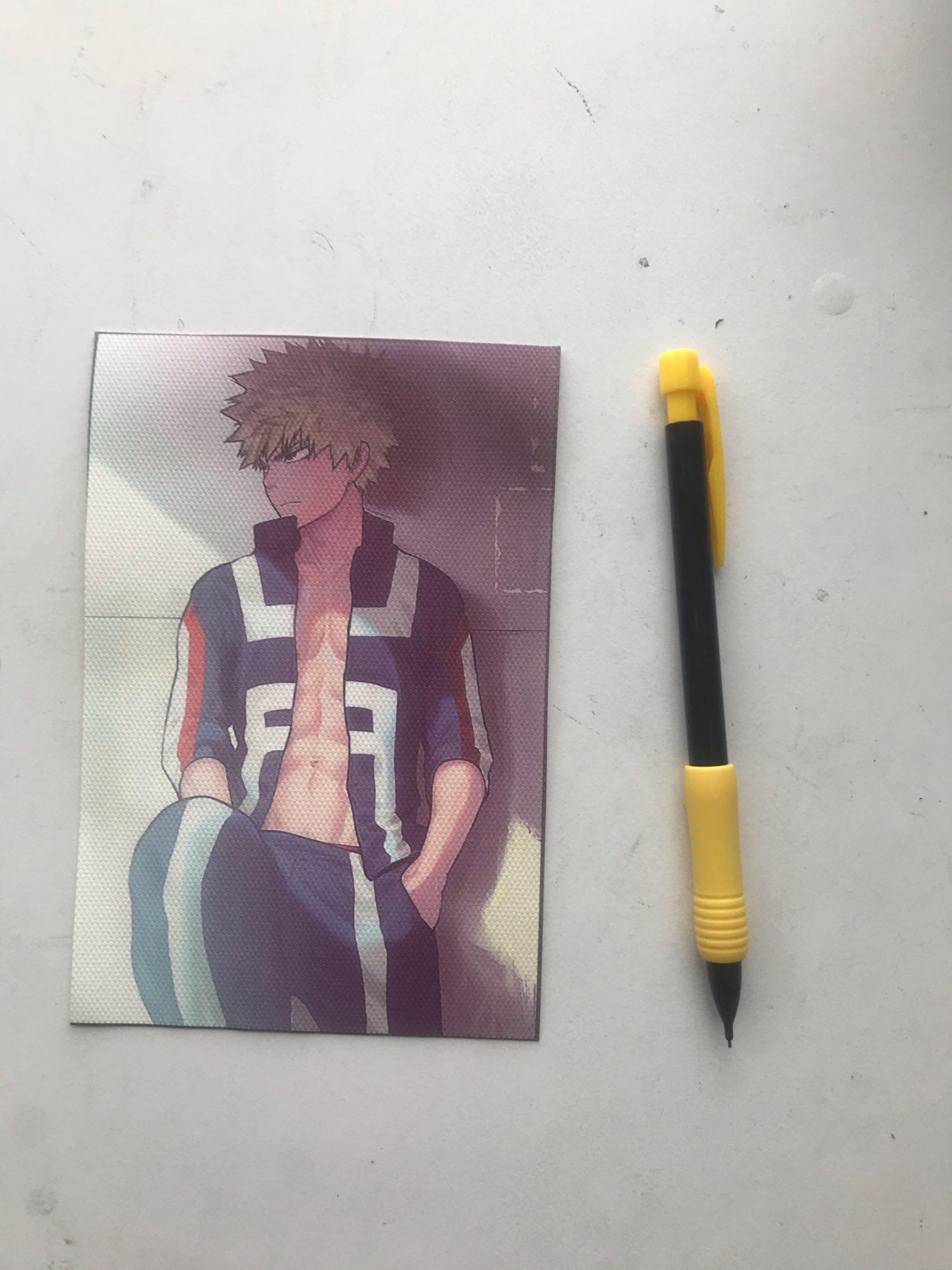 Canvas Painting Anime Posters My Hero Academia Bakugo Katsuki Shoto Todoroki Izuku Midoriya Picture Wall Art Home Decor photo review