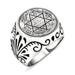 925 sterling Dichtung Von Solomon Silber Herren Ring