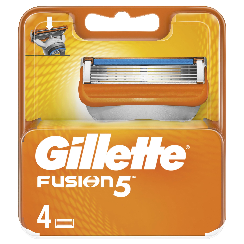 Gillette Fusion5 Replaceable Cassettes 4 pcs. цена 2017