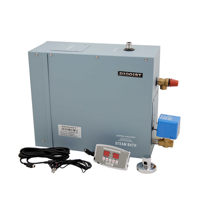 Free Shipping competitive price 9KW steam bath generator 380-415 V 3 phase 50/60HZ used in wet steam room