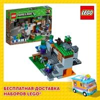 Designer Lego Minecraft 21141 cave zombie