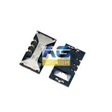 Коннектор SIM-карты(сим), mmc коннектор Samsung S5830(S138