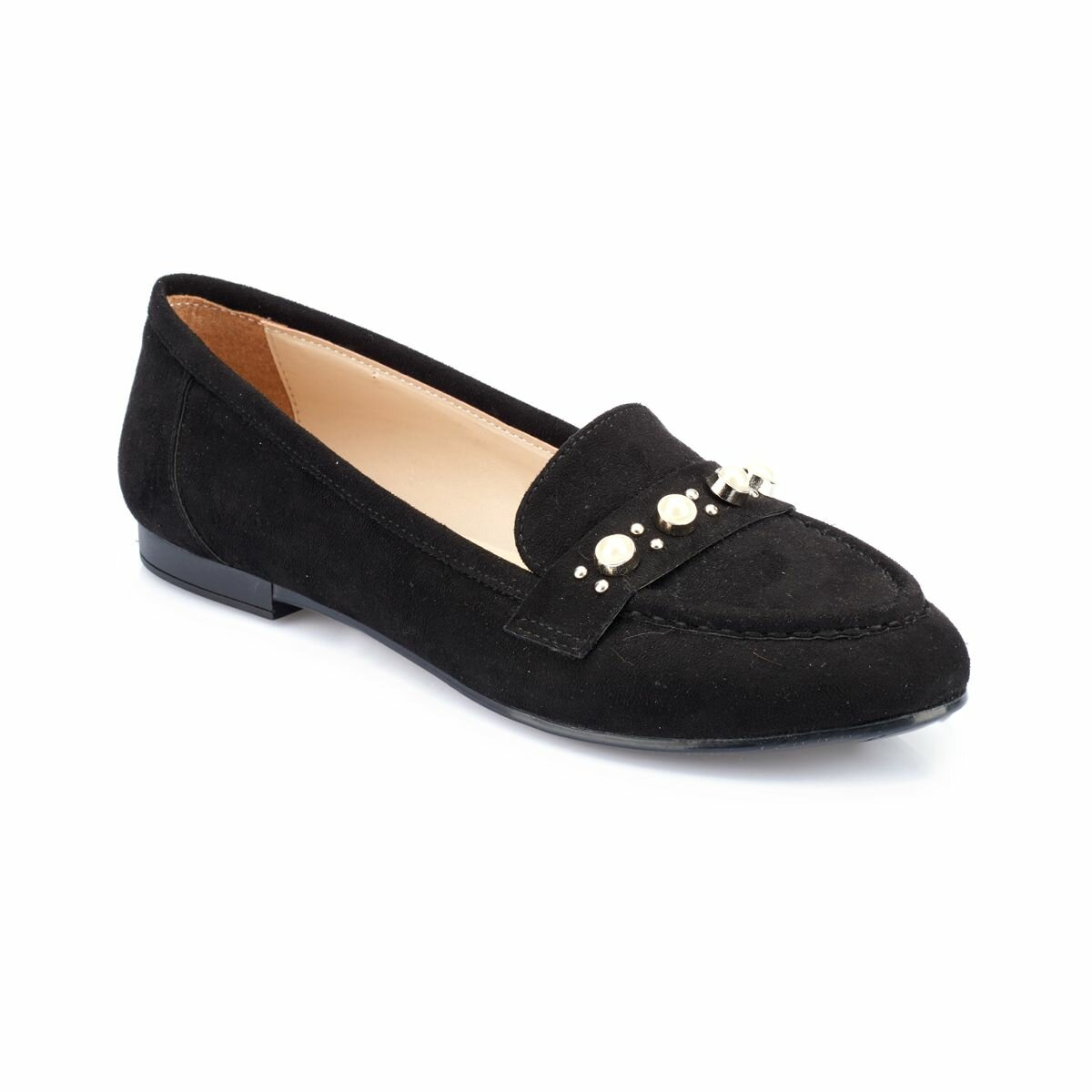 FLO 82.312019SZ Black Women Loafer Shoes Polaris