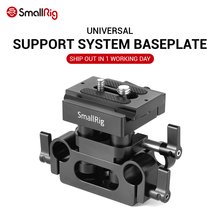 SmallRig DSLR Camera Plate Clamp Bracket Universal 15mm Rail Support System With Quick Release Arca Plate High Adjustable 2272