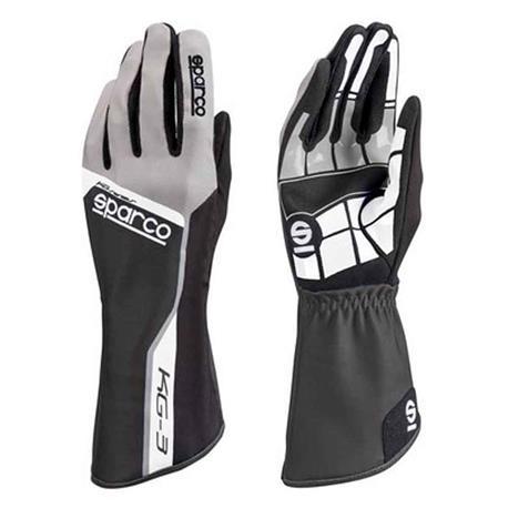Sparco gloves Track Kg 3 Tg. 05 black - title=