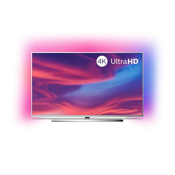"""Smart TV Philips 50PUS7354 50"""" 4K Ultra HD LED WiFi Ambilight Silver