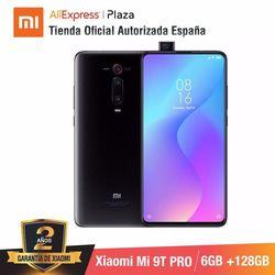 Xiaomi Mi 9T PRO (128GB ROM con 6GB RAM, Triple cámara de 48 MP con IA, Android, Nuevo, Móvil) [Teléfono Móvil Versión Global para España] smartphone