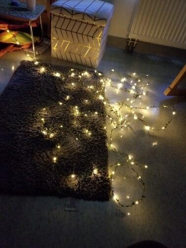 Fios de LED Partido Decoração Decoração