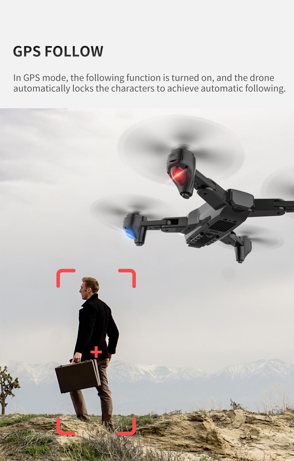 lowest price SG701   SG701S RC Drone with 4k camera helicopter 5G WIFI GPS fpv professional drones quadrocopter GPS one key return 15mins Toy