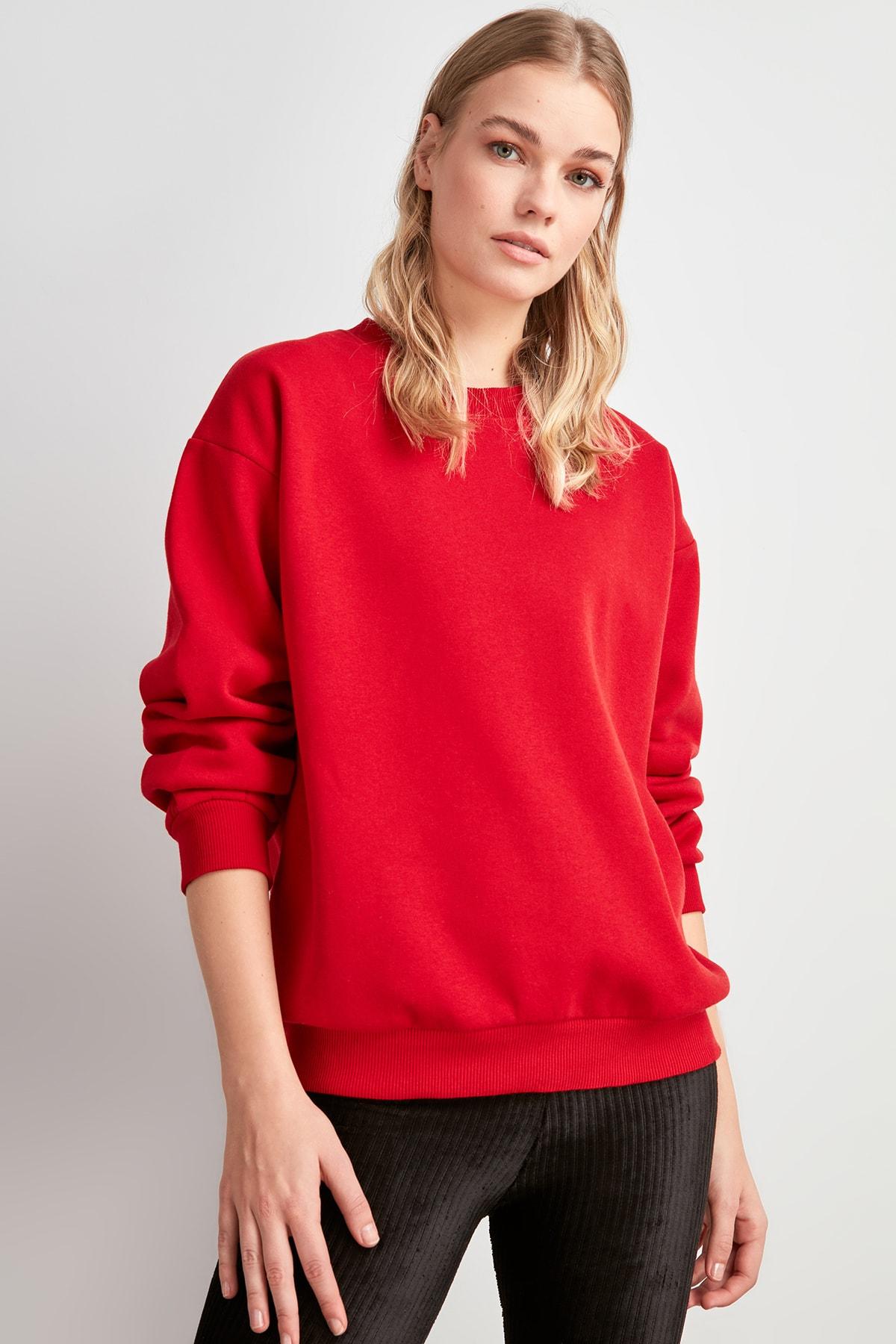 Trendyol Basic Knitted Sweatshirt TWOAW20SW0790