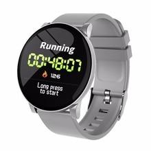 купить W8 Smart Watch Blood Pressure Blood Oxygen Fitness tracker Monitor Waterproof Smart Wristwatch Sport Pedometer fitness bracelet дешево