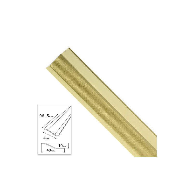 Flashing Adhesive For Ceramics Gold Aluminum 98,5 Cm.