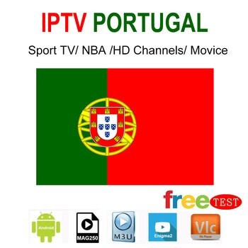 One Year Suscription Portugal IPTV Smart TV Android IOS VLC Enigma Mag M3Umore Than 600 Channel Sports Footbal VOD Children Etc