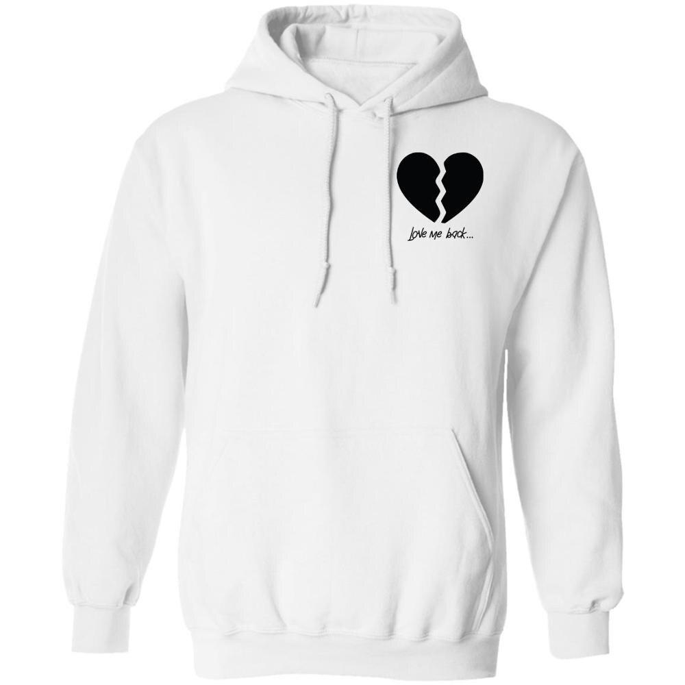 Mens Hoodie Payton Moormeier Merch Broken Heart Print Fashion Casual Hooded Sweatshirts Unisex Vloger Fan's Hoodies мерч пэйтона