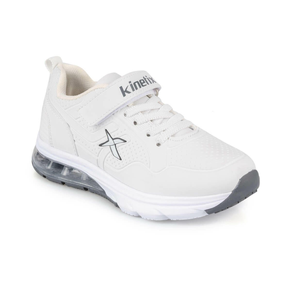 FLO ASPEN J 9PR White Male Child Running Shoes KINETIX