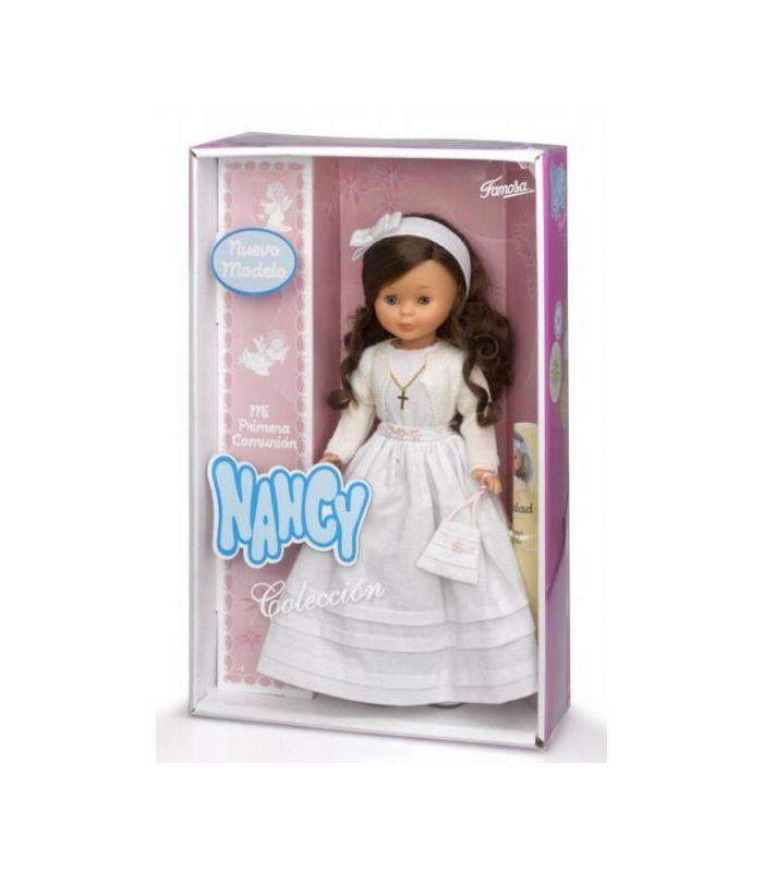 Nancy Doll Communion Brunette 48cm Toy Store Articles Created Handbook