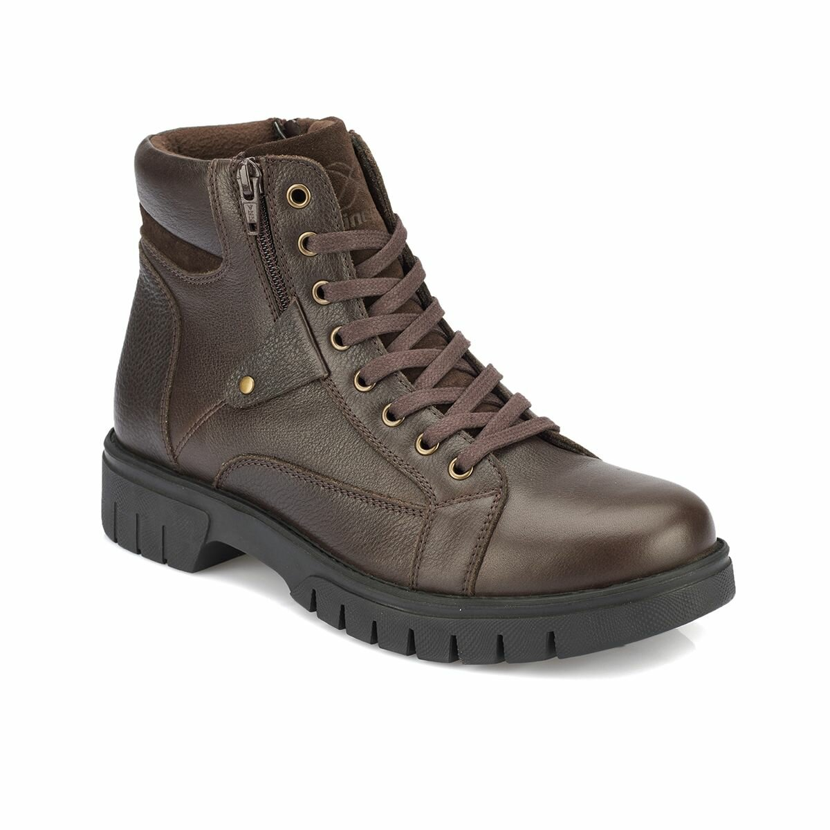 FLO BERONA Brown Men Boots KINETIX