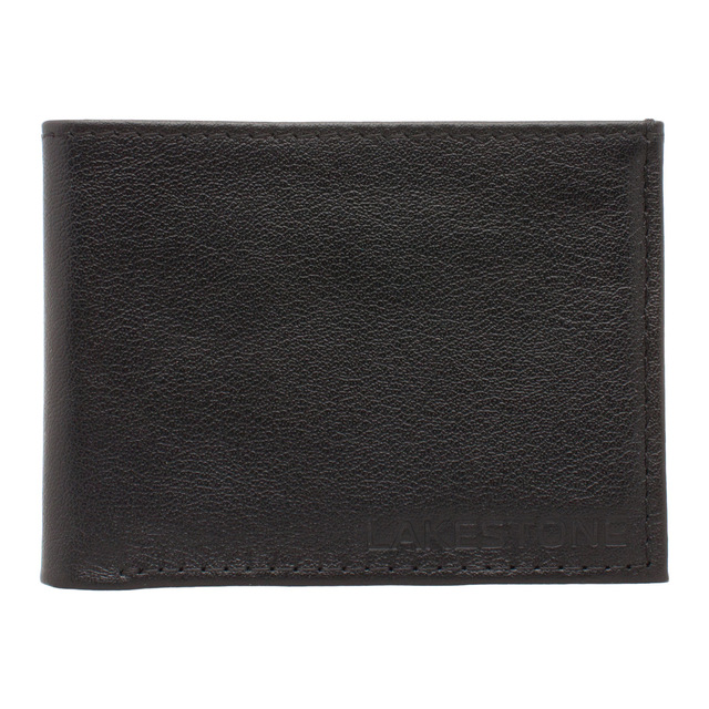 LAKESTONE  портмоне кожаное Stoke Black для мужчин