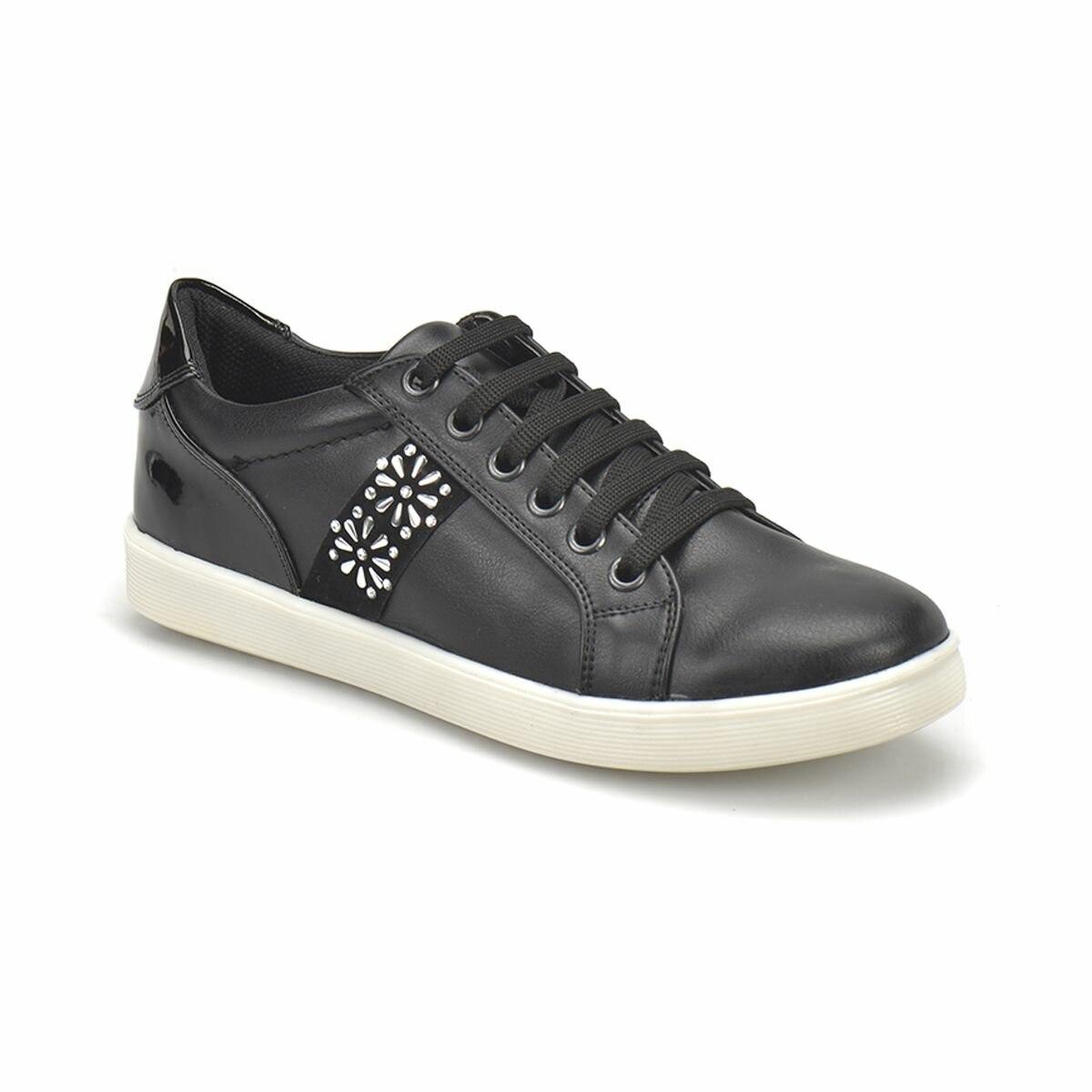 FLO CS18124 Black Women 'S Sneaker Shoes Art Bella