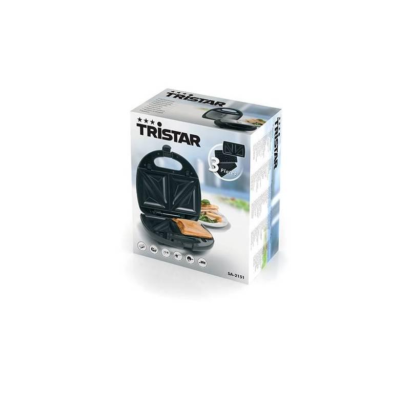 Мульти закуски 3 в 1 TriStar SA2151 сталь 750 Вт