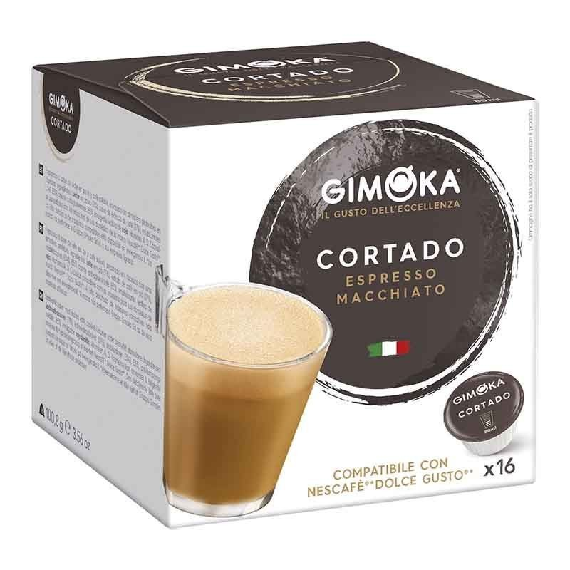 Cut Gimoka®, Dolce Gusto®Compatible 16 capsules