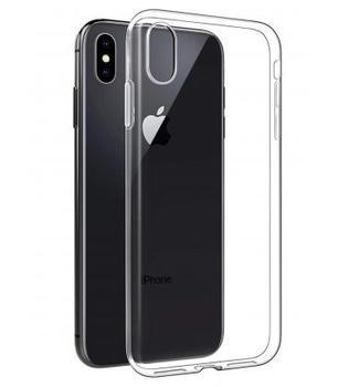 Funda de gel TPU carcasa silicona para movil Iphone XS Max Transparente