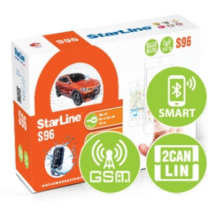 Автосигнализация StarLine S 96 BT GSM 2CAN+LIN title=