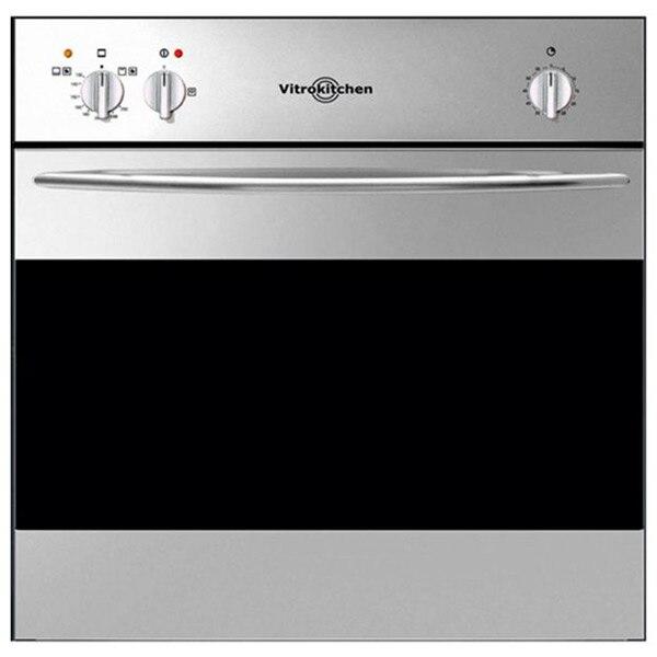 Gas Oven Vitrokitchen HG6IB 50 L Black Stainless Steel