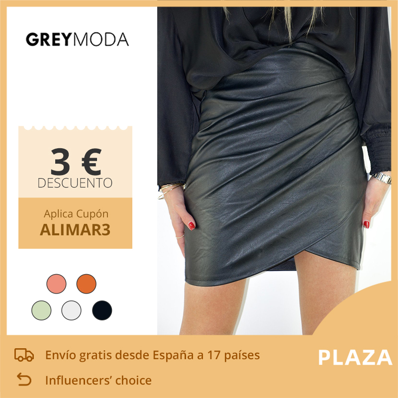 GREYMODA Leather Skirt Tube Skirt Pencil Skirt Short Skirts Mini Skirt Women Clothes Spring 2020 Fashion