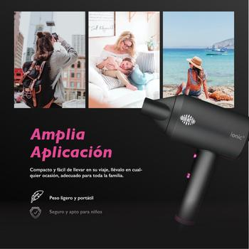 1800W Anion Hair Dryer Hot / Cold Wind Negative Ion hair care Professional Quick Dry Home Portable Hairdryer Diffuser anion moisturizing instrument ultrasonic diffuser hair with 5k hour life