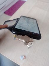 256 GB holds. Transmission speed 23 at me went out. The case is iron, durable. In case of