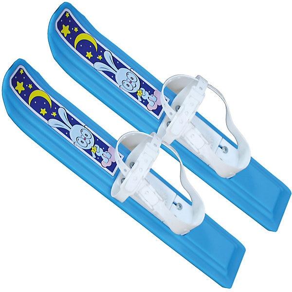 Мини-лыжи «Юниор», Цикл, голубые