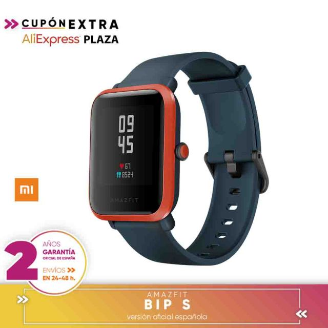 [Official Spanish Version warranty] Global Version Amazfit Bip S Smartwatch 5ATM GPS GLONASS Bluetooth Smart Watch 3