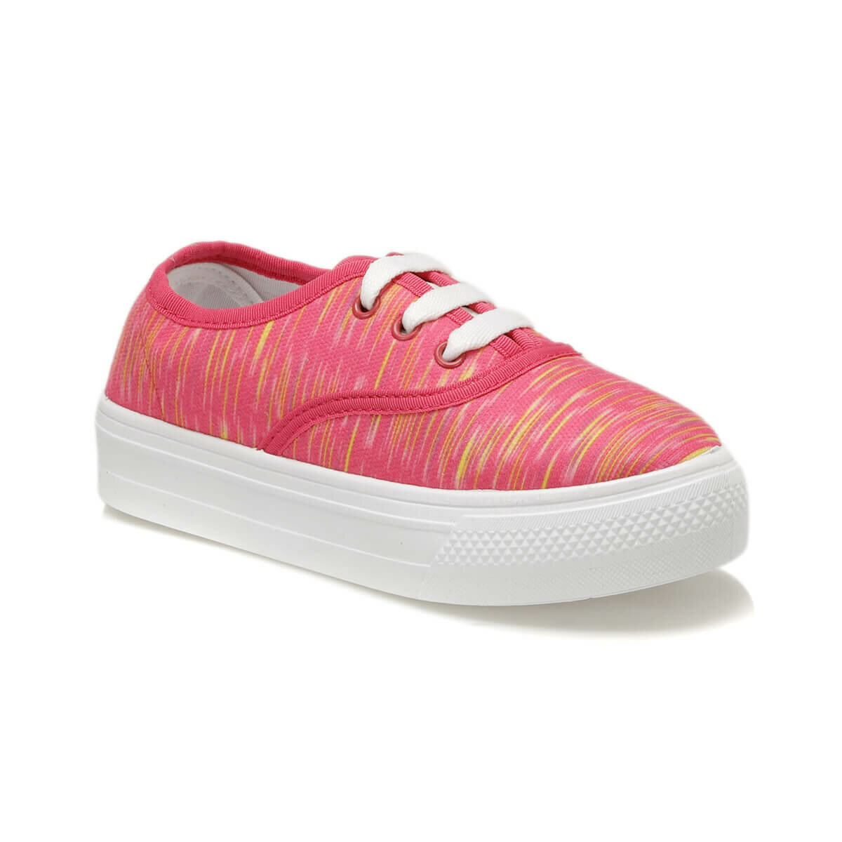 FLO RAPHAL Fuchsia Female Child Sneaker Shoes KINETIX