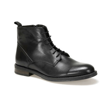 FLO PTN-1500-1 Black Men Boots Garamond