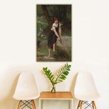 Holover toile peinture à l'huile Emile Munier