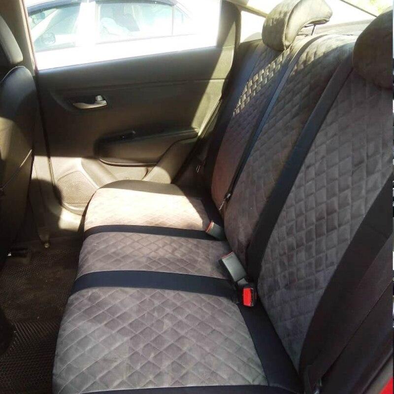 Для Chery Amulet (А15) с 03 13г. авточехлы из Алькантары Ромб, чехлы для авто|Чехлы на автомобильные сиденья|   | АлиЭкспресс