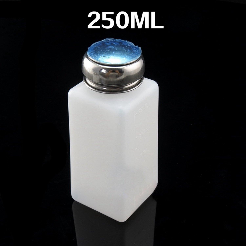 Bottle with liquid dispenser by press 250 ml bottle tritan bpa 0% silicone nipple 250 ml color blue 12 sweet fun feedkid