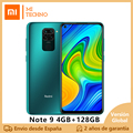 Xiaomi Redmi Note 9 Smartphone(4GB RAM 128GB ROM NFC telefono Free Cell new cheap android 5020mAh) [Global version]