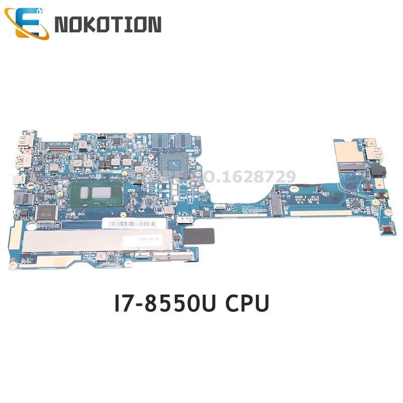 NOKOTION For Lenovo IdeaPad 320S-13IKB 320S-13IKBR Laptop Motherboard SR3LC I7-8550U 8G Memory 5B2057030 PN 431203662010