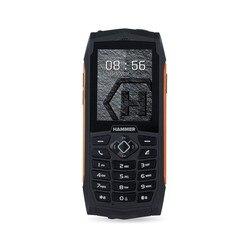 Myphone hammer 3 czarny pomarańczowy wytrzymały mobilny ip68
