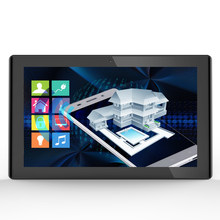 10 inç PoE Android tablet pc gömme duvara monte siyah (RK3288, 2GB DDR3, 16GB flaş, wifi, Ethernet, BT, VESA 75*75mm)