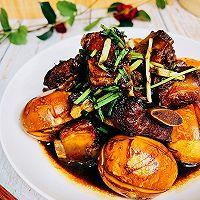 """#美食说出""""新年好""""#年味红烧肉排蛋的做法图解10"""