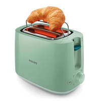 Toaster Philips HD2581/60 830W Green|Toasters| |  -